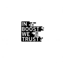 T-shirt|In boost we trust