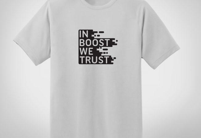 In boost we trust  - biała