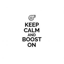 T-shirt|Keep calm and boost on