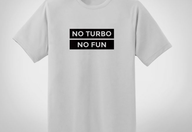 No turbo, no fun - biała